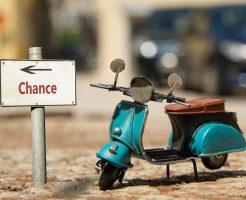 Schild 139 - Chance