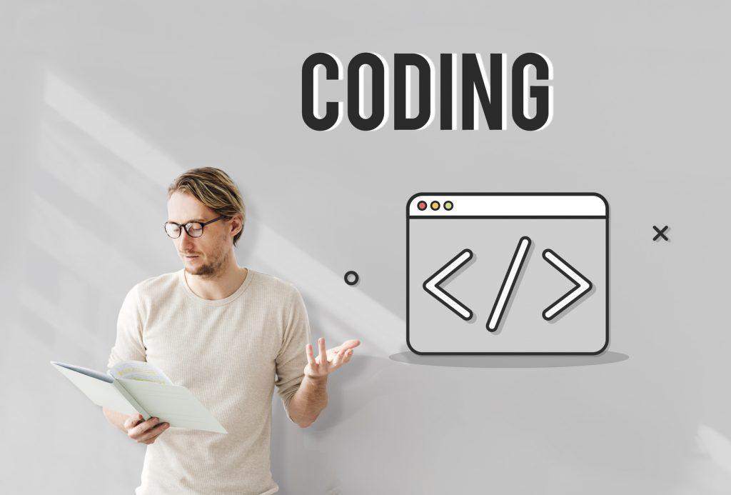 Web Development Symbol Icon Concept