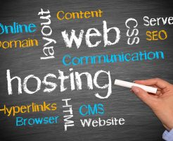 Web Hosting Business Concept